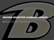Second Semester Learning Update