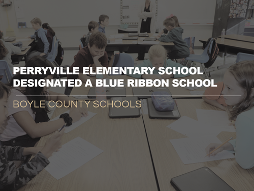 PES Blue Ribbon School