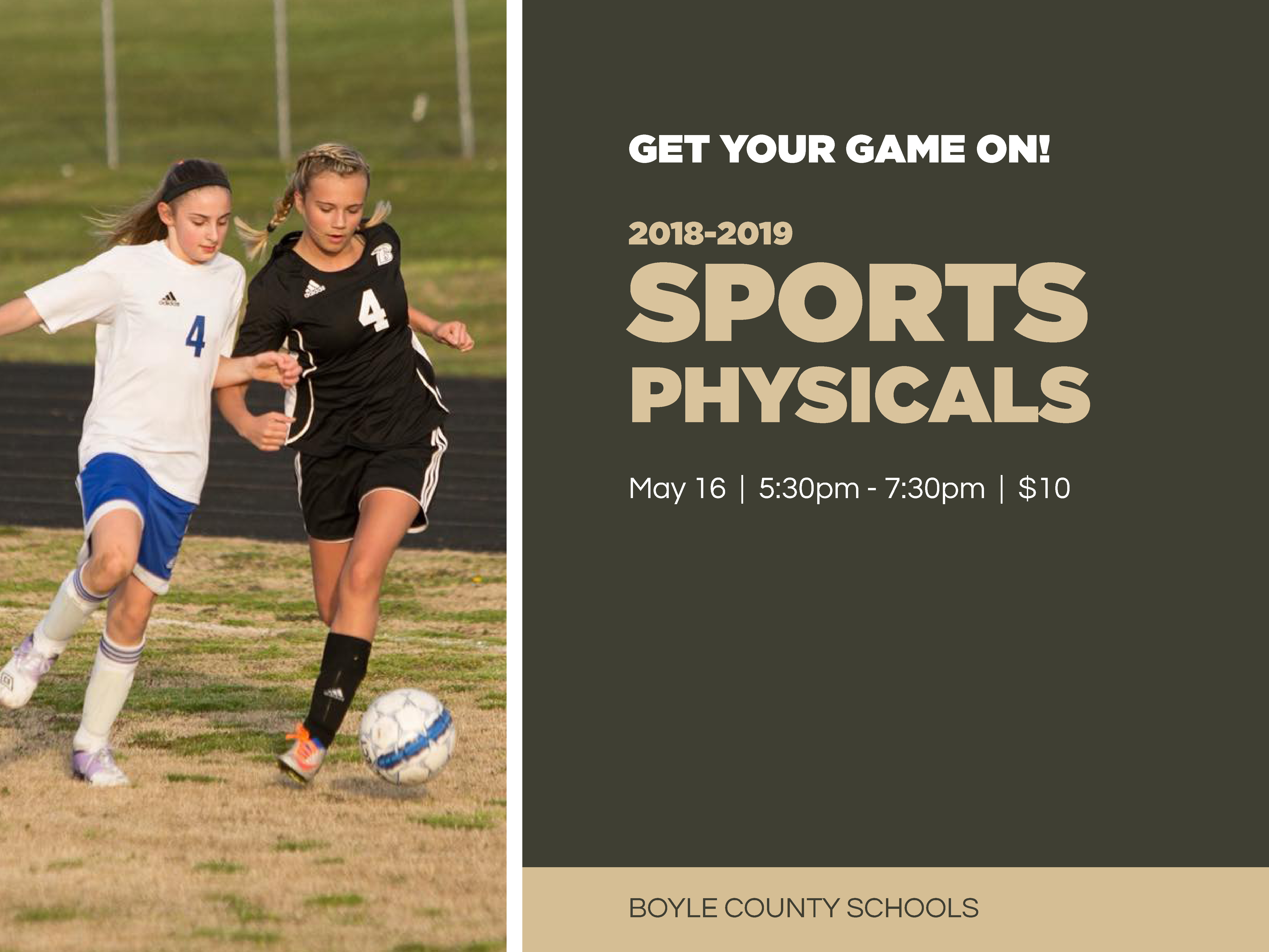 Sports Physicals Scheduled