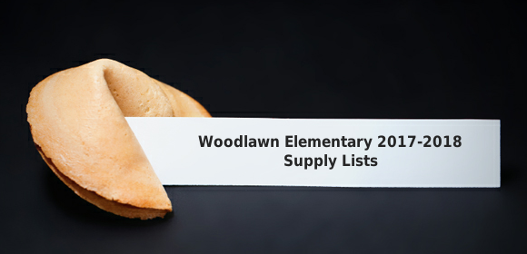 Woodlawn Supply List Fortune Cookie image